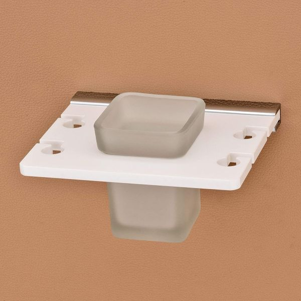 Plantex 8 mm Acrylic Tooth Brush Holder/Stand/Tumbler Holder for Bathroom/Bathroom Accessories for Home
