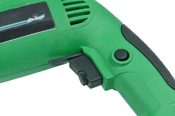 Plantex Auto Power Drill Machine/Reversible Impact Drill Machine with Variable Speed 13mm/650W(AP-13B)