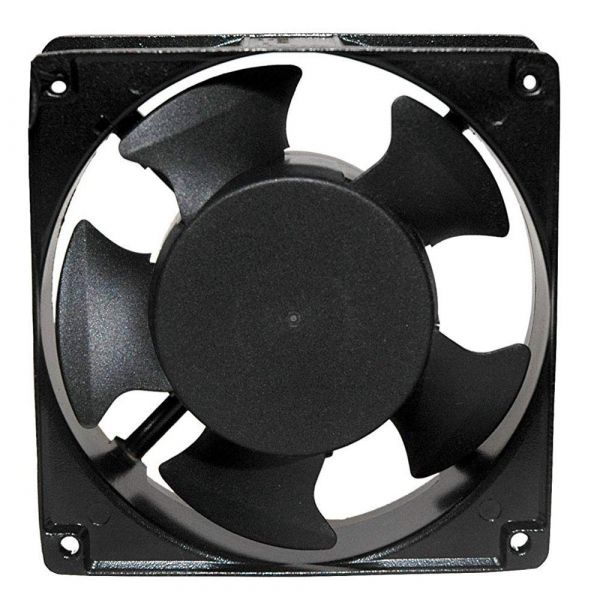 Plantex Cabinet/Case Cooling Fan/CPU Fan/Exhaust Fan(Impedance Protected) - Size: 120x120x38mm, Voltage: 240 VAC