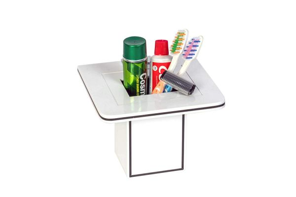 Plantex High Grade Acrylic Tooth Brush Holder/Stand/Tumbler Holder for Bathroom/Bathroom Accessories for Home