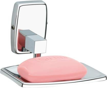 Plantex 304 Grade Stainless Steel Squaro Soap Holder for Bathroom/Soap Stand/Soap Dish/Bathroom Accessories