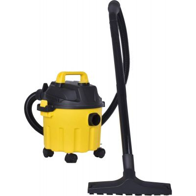 Cleanex Quick-Pro 10 Litre (16 KPA-18000 RPM) Wet & Dry Vacuum Cleaner with Blower/3in1 Vacuum Cleaner for Home and Car/Strong Powerful Suction(Yellow & Black)