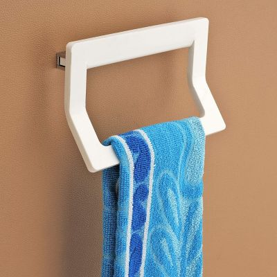 Plantex 8 mm Acrylic Towel Ring/Towel Holder Stand/Napkin Ring/Bathroom Accessories for Home