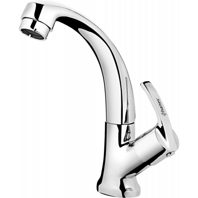 Plantex Pure Brass Aqua Sink Cock Table Mounted Tap, Pull-Down Kitchen Faucet/Bathroom Sink Single Handle Faucet (AQ-1412)